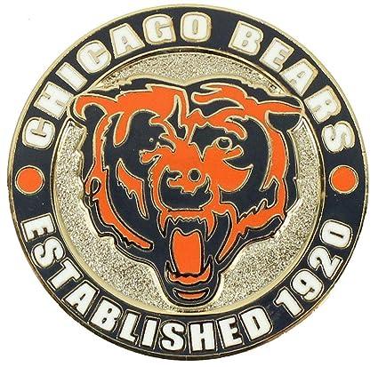 Amazon.com: Chicago Bears Círculo Pin – Est. 1920: Sports ...