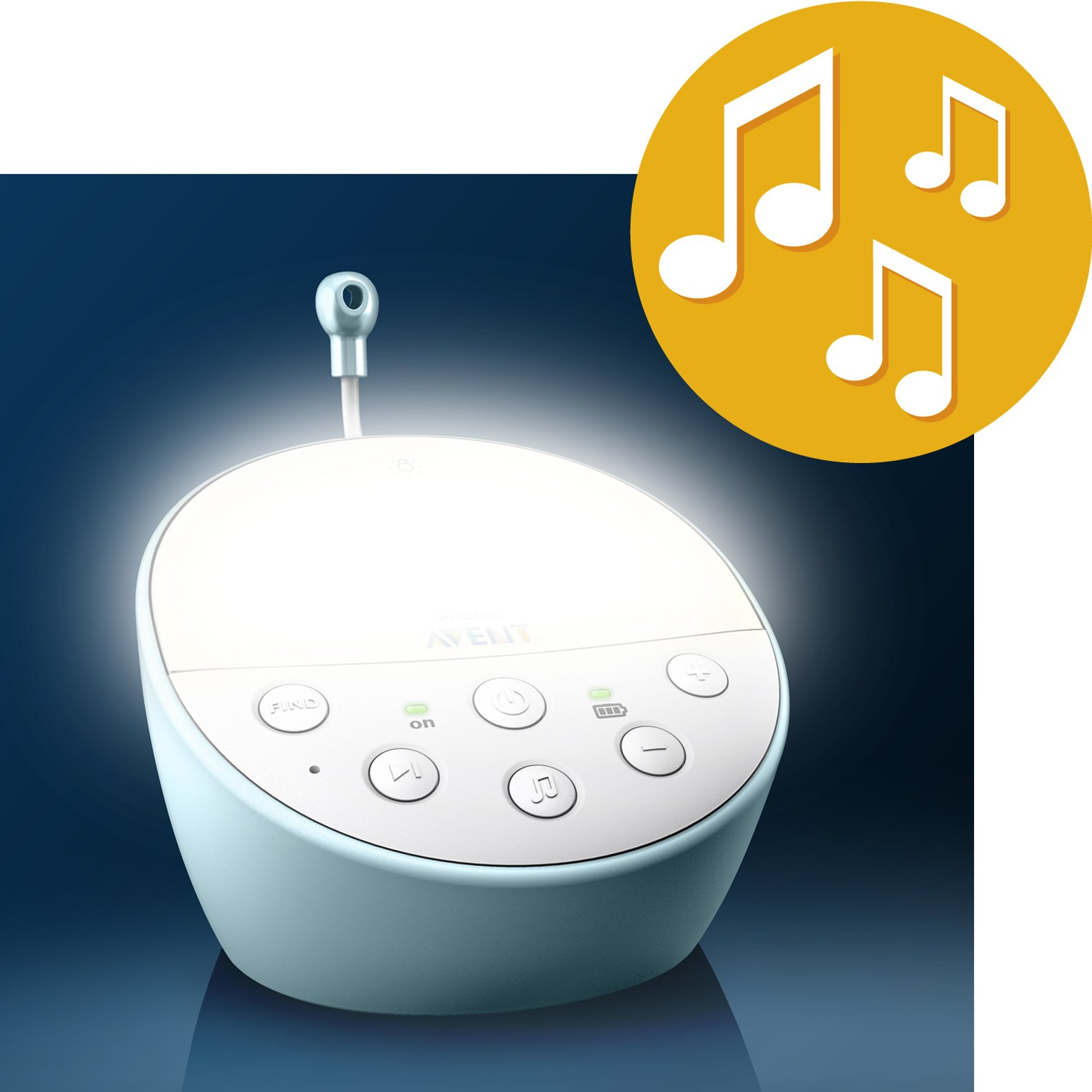 Philips Avent DECT Baby Monitor with Temperature Sensor by Philips AVENT (Image #5)
