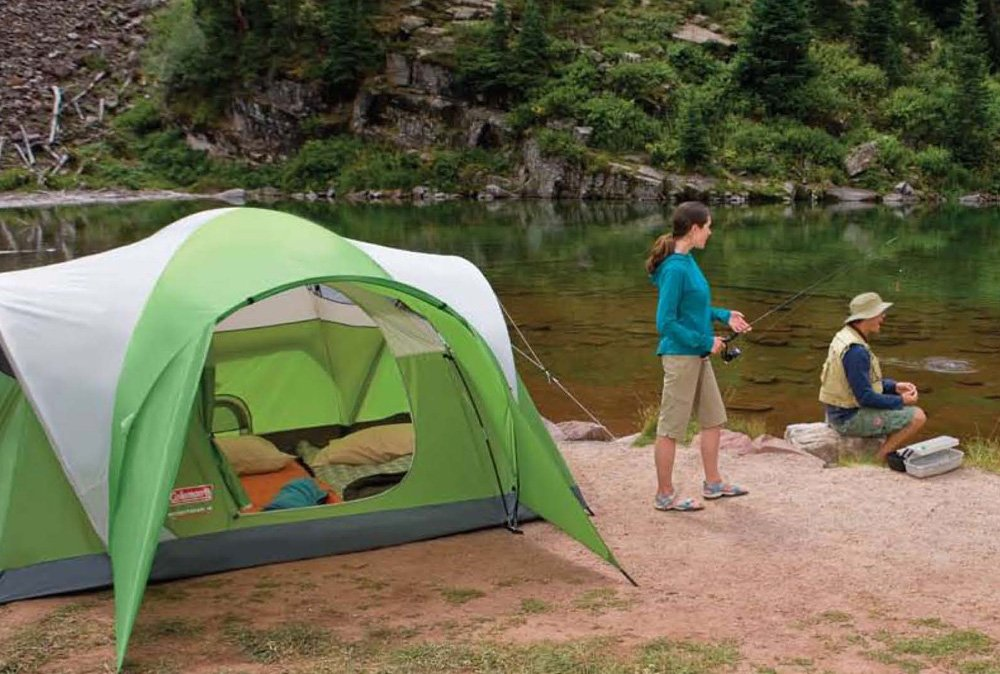 & Amazon.com : Coleman Montana 4 Person Tent : Sports u0026 Outdoors