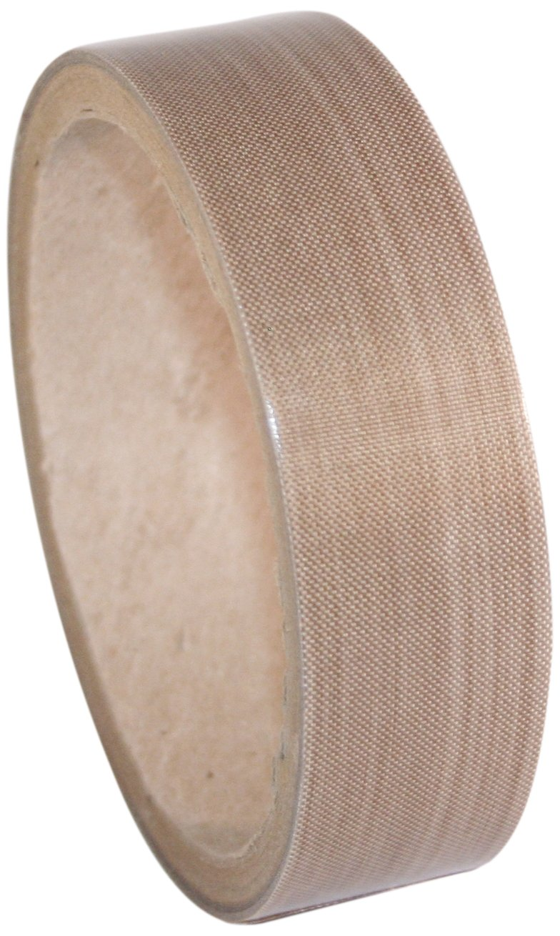 Maxi 855-02 PTFE Coated Woven Fiberglass with Silicone Adhesive and Dimpled Liner, 2' x 18 Yards, 5 mil Total Thickness, 3' Core 2 x 18 Yards 3 Core 855-02 MAXI