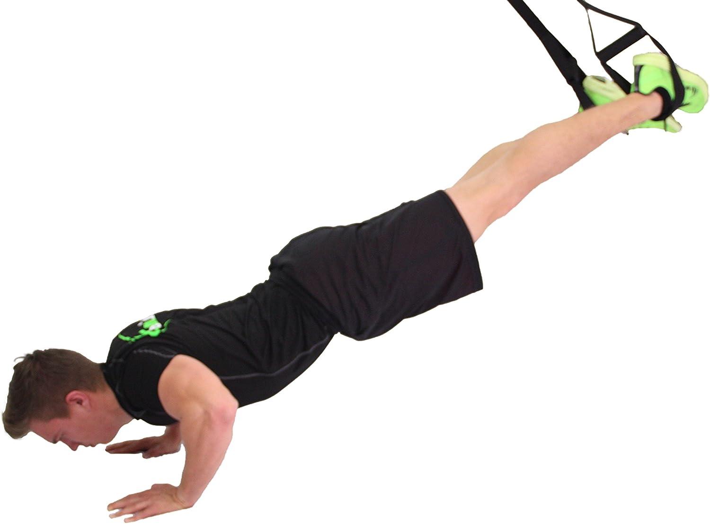 eaglefit Sling Trainer Base con Polea de desviación y Anclaje de Puerta