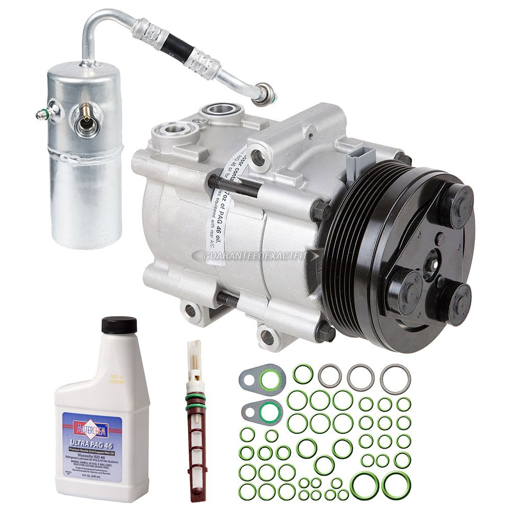 New Ac Compressor Clutch With Complete A C Repair Kit Fuel Filter 1987 F 150 For Ford F150 46l 54l Buyautoparts 60 81386rk Automotive