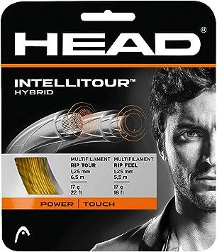 Head Intellitour Cordajes de Raquetas de Tenis Unisex Adulto