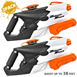 KIDPAR 2PACK Water Guns for Kids Adult , 1010CC Super Water Blaster Soaker Squirt Guns High Capacity Summer Swimming Pool Bea