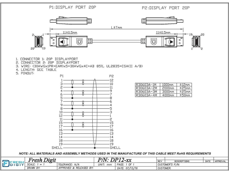 Tremendous Displayport Connector Wiring Basic Electronics Wiring Diagram Wiring Database Cominyuccorg