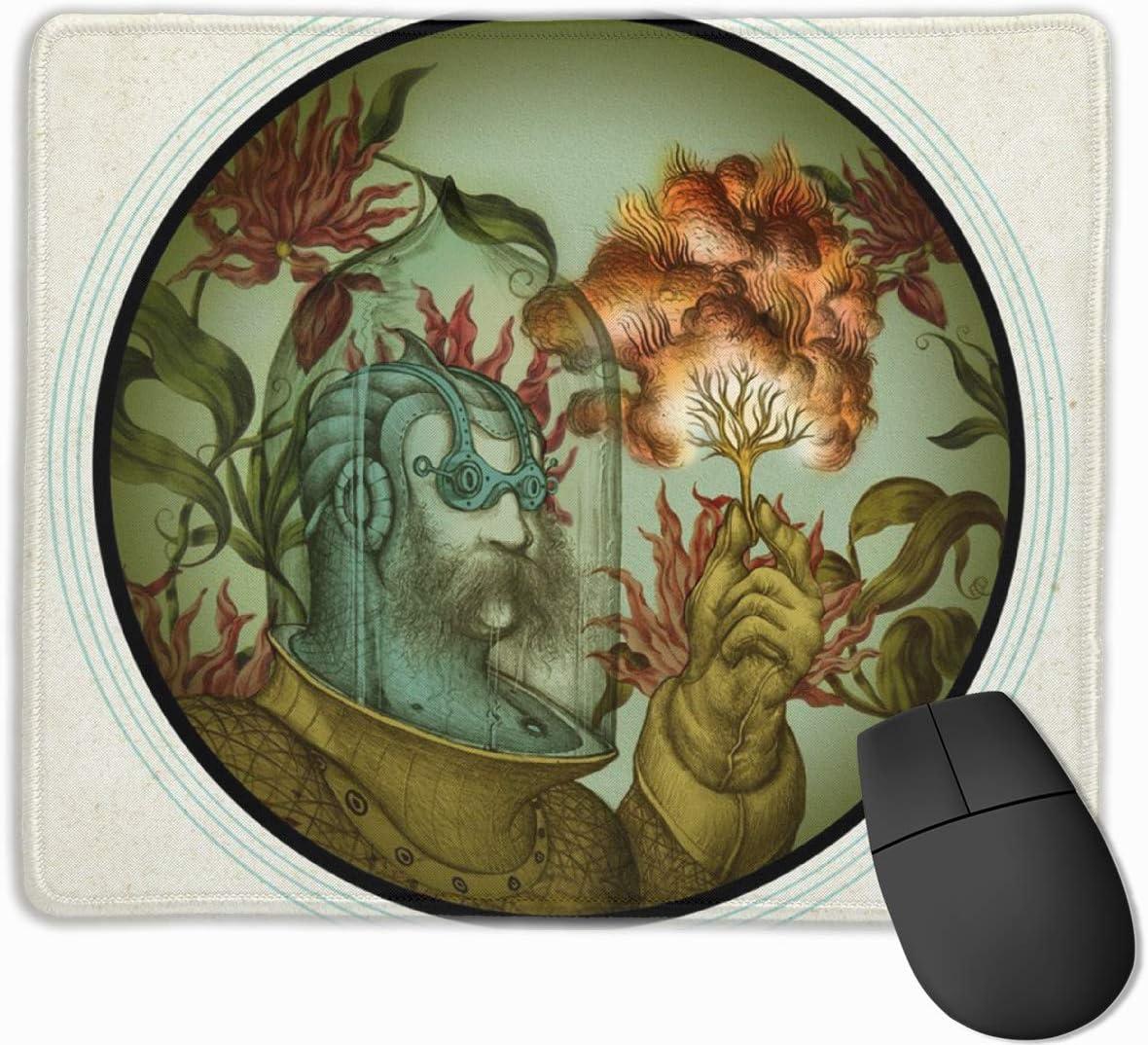 Alfombrilla de ratón Divertida de Caliope Alfombrilla de ratón Rectangular de Goma Alfombrilla de ratón para Juegos Alfombrilla de ratón para computadora Alfombrilla de ratón de Color