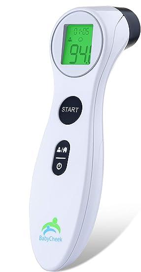 Amazon.com: Termómetro de infrarrojos para la frente del ...