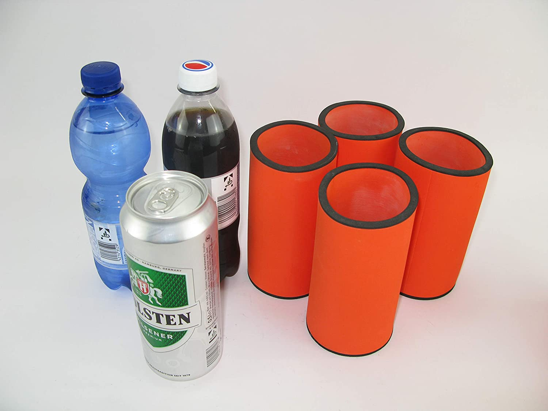 4 x 0,5L Dosenkühler Bierkühler Getränkekühler Kühler Neopren Top Qualität