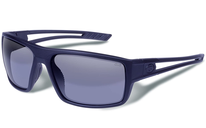 Gargoyles Wall Performance Sonnenbrille, matt schwarz Rahmen Blau Objektiv