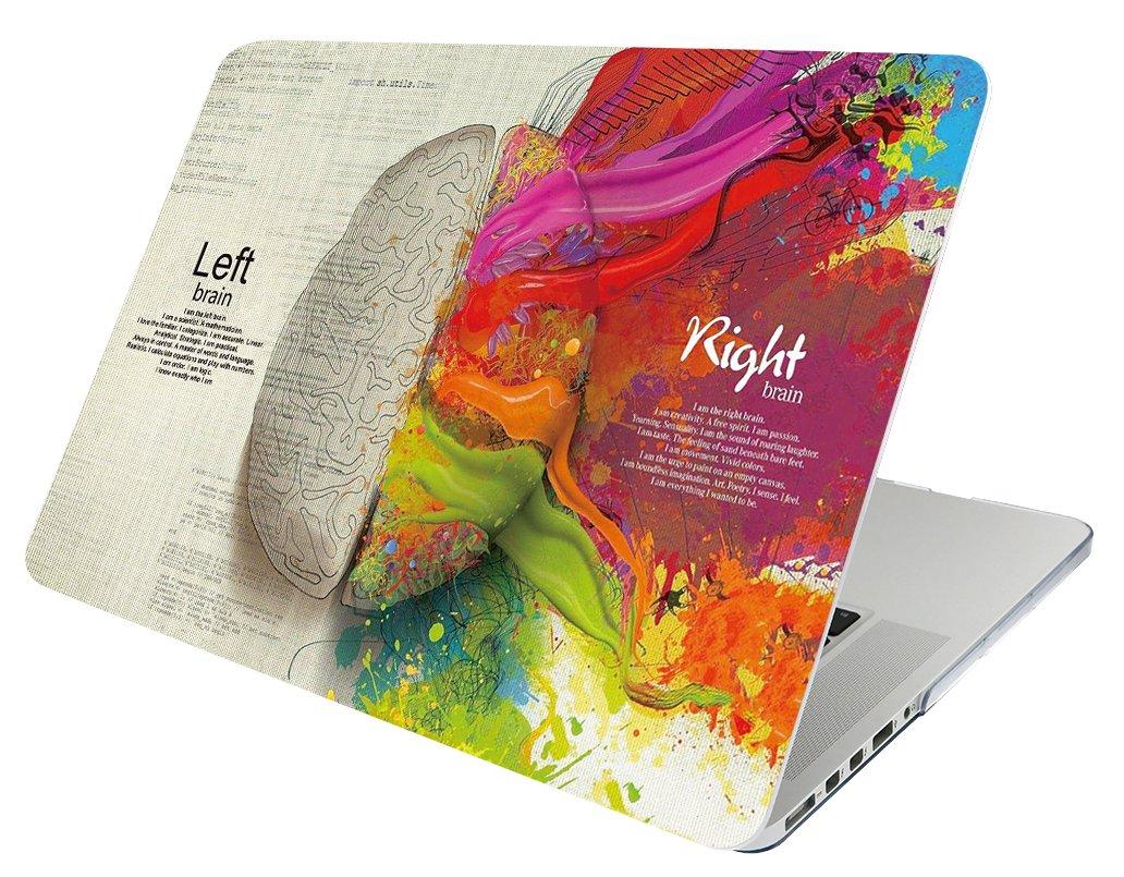 A1466 A1369 October Elf Funda r/ígida para MacBook Air de 13 pulgadas 2 en 1 con funda para MacBook Air de 13 pulgadas Modelo Cerebro izquierdo derecho D