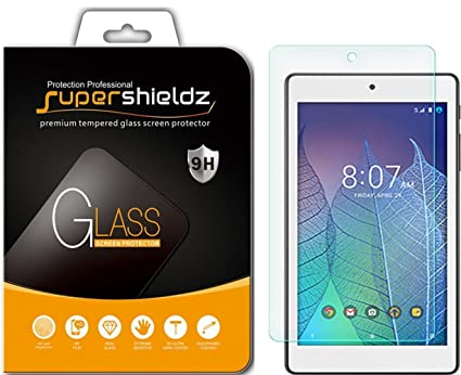 Supershieldz for Alcatel Onetouch Pop 7 LTE Tablet (T-Mobile) Tempered  Glass Screen Protector, Anti-Scratch, Bubble Free, Lifetime Replacement