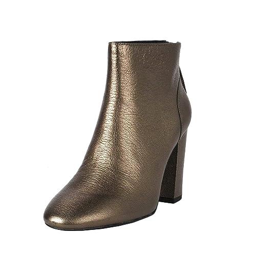 0533b7851da91 Ash Joy Ankle Boots Stone Leather 41 Grey.: Amazon.co.uk: Shoes & Bags