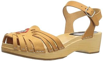 329be4c1ae9a swedish hasbeens Women s Huarache Debutant Platform Sandal
