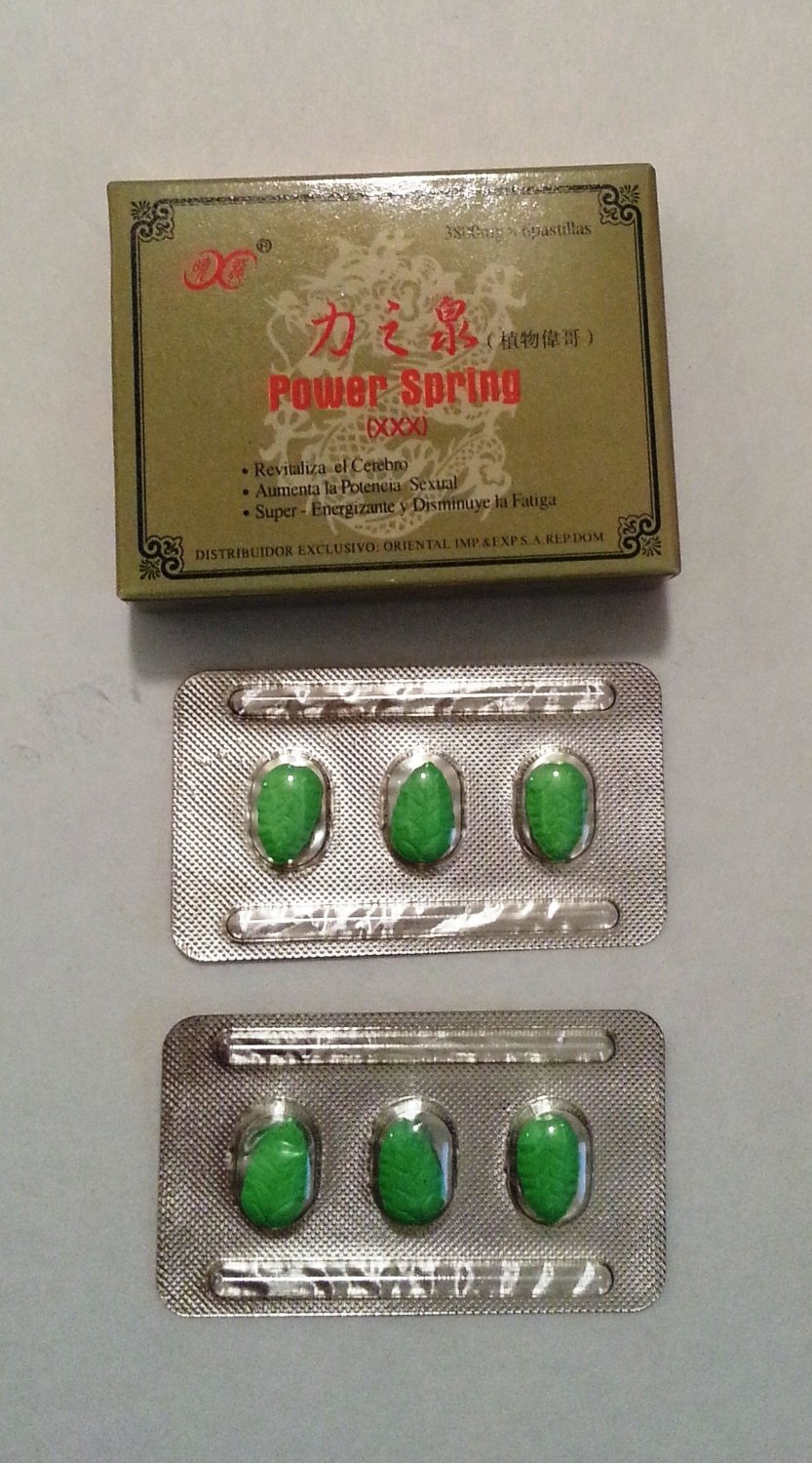 Amazon.com: Chinese Power Spring XXX Natural Herbal (Ginseng + Ganoderma) Sexual  Enhancement Capsules: Health & Personal Care
