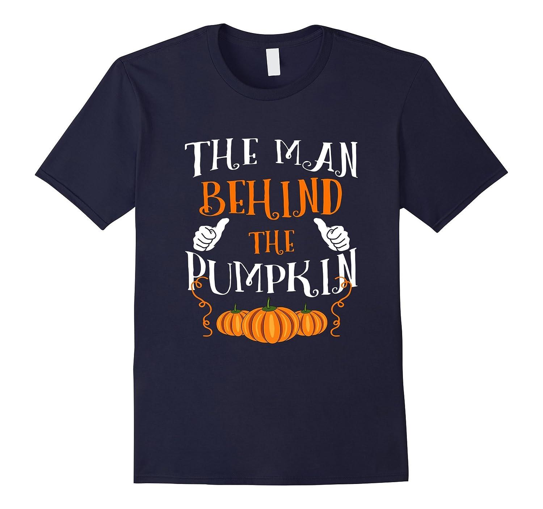 Mens The Man Behind The Pumpkin shirt-FL