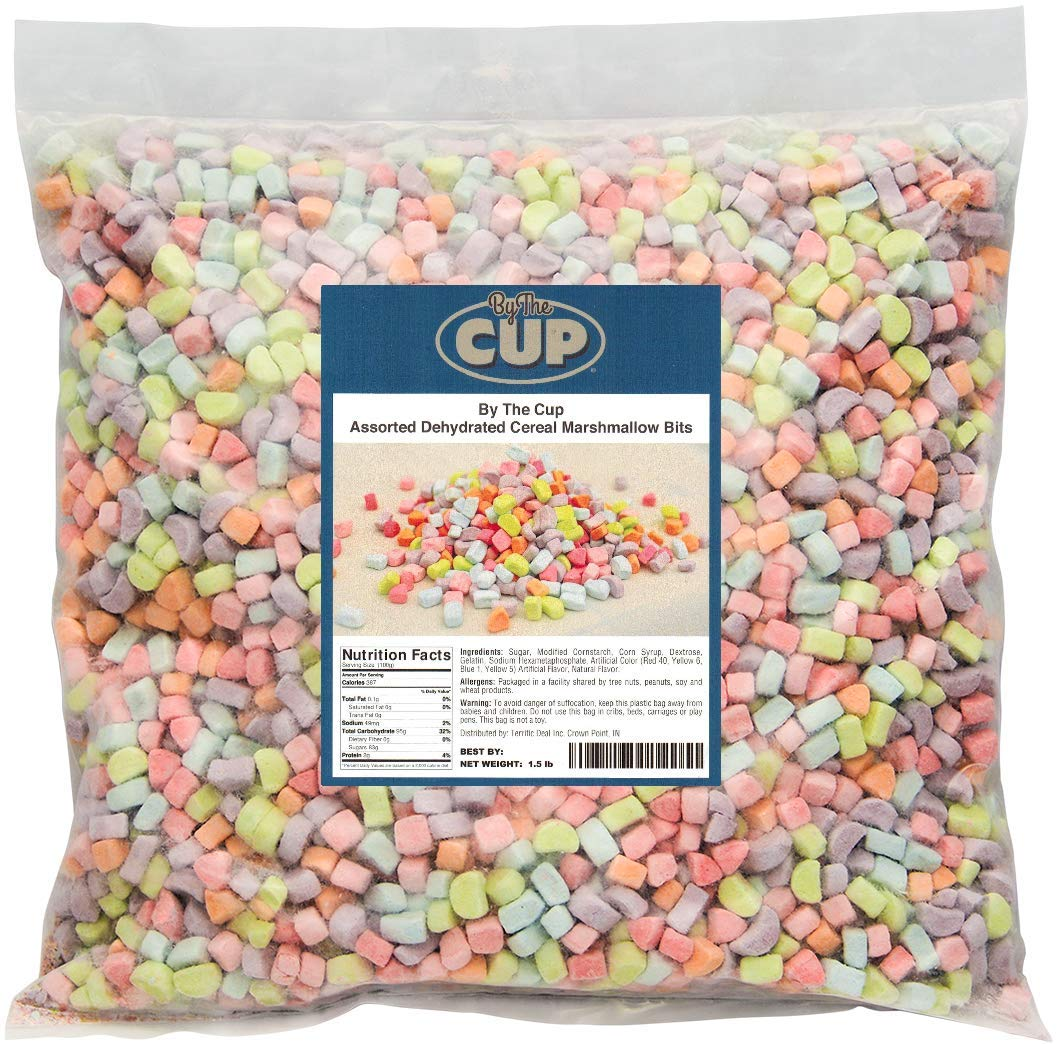 de86466cf964 Assorted Dehydrated Cereal Marshmallow Bits 1.5 lb bulk bag