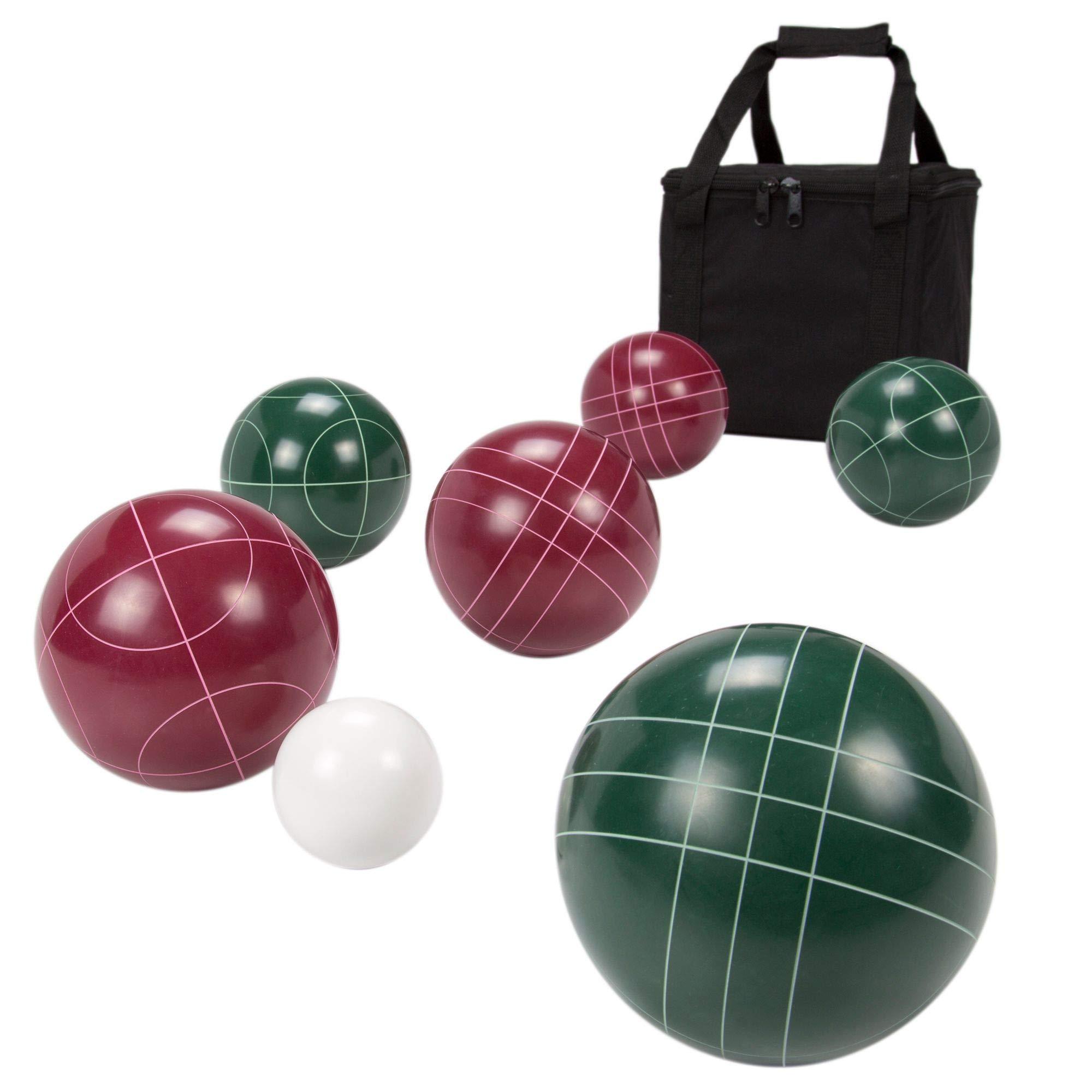 HealthyBells Bocce Ball Set Regulation Size