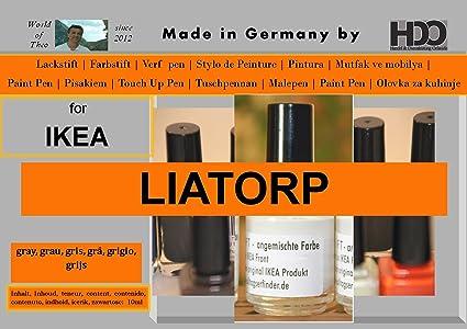 Amazoncom Q Pen Hdo Touch Up Paint For Ikea Liatorp Grey Gray Gris
