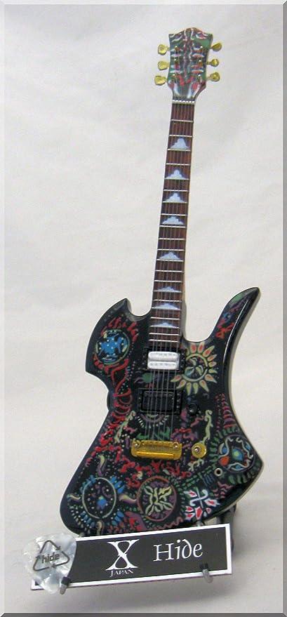 X-JAPAN HIDE Guitarra en miniatura Fernandes NUEVO con púa de ...