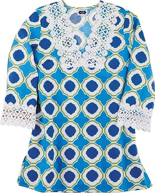 Amazon.com: Mud Pie Bliss de la mujer túnicas de playa ...