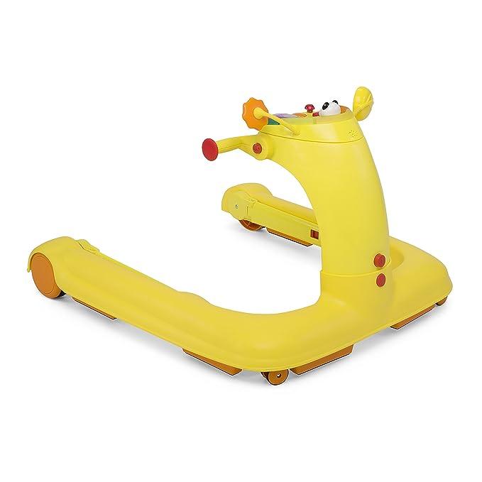 Chicco 1 2 3 Baby Walker - Andador-correpasillos, color naranja