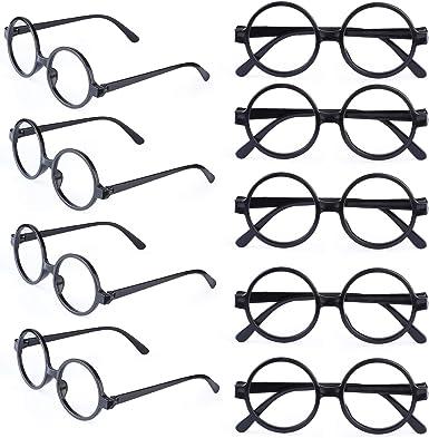 Beefunny - 9 piezas de gafas redondas de plástico para niños ...