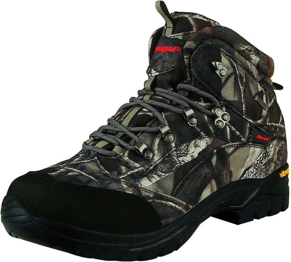 HANAGAL Men's Hunting Boots for Hiking Backpacking, Non-Slip Bushland Series, Size 8 Camouflage