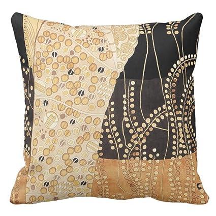 Amazon Emvency Throw Pillow Cover Vintage Fabrics African Earth Enchanting Earth Tone Decorative Pillows
