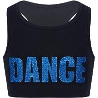 ranrann Tank Top de Yoga Danza para Niñas