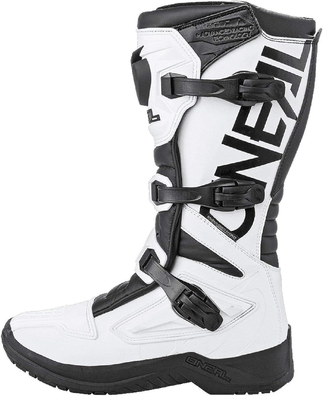 ONeal Unisex Motocross Stiefel RSX Boot 0334-1 Schwarz Wei� 43