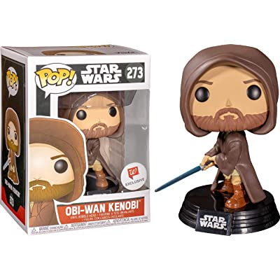 Funko POP! Star Wars Young OBI-Wan Kenobi #273 (Hooded with Light Saber): Toys & Games