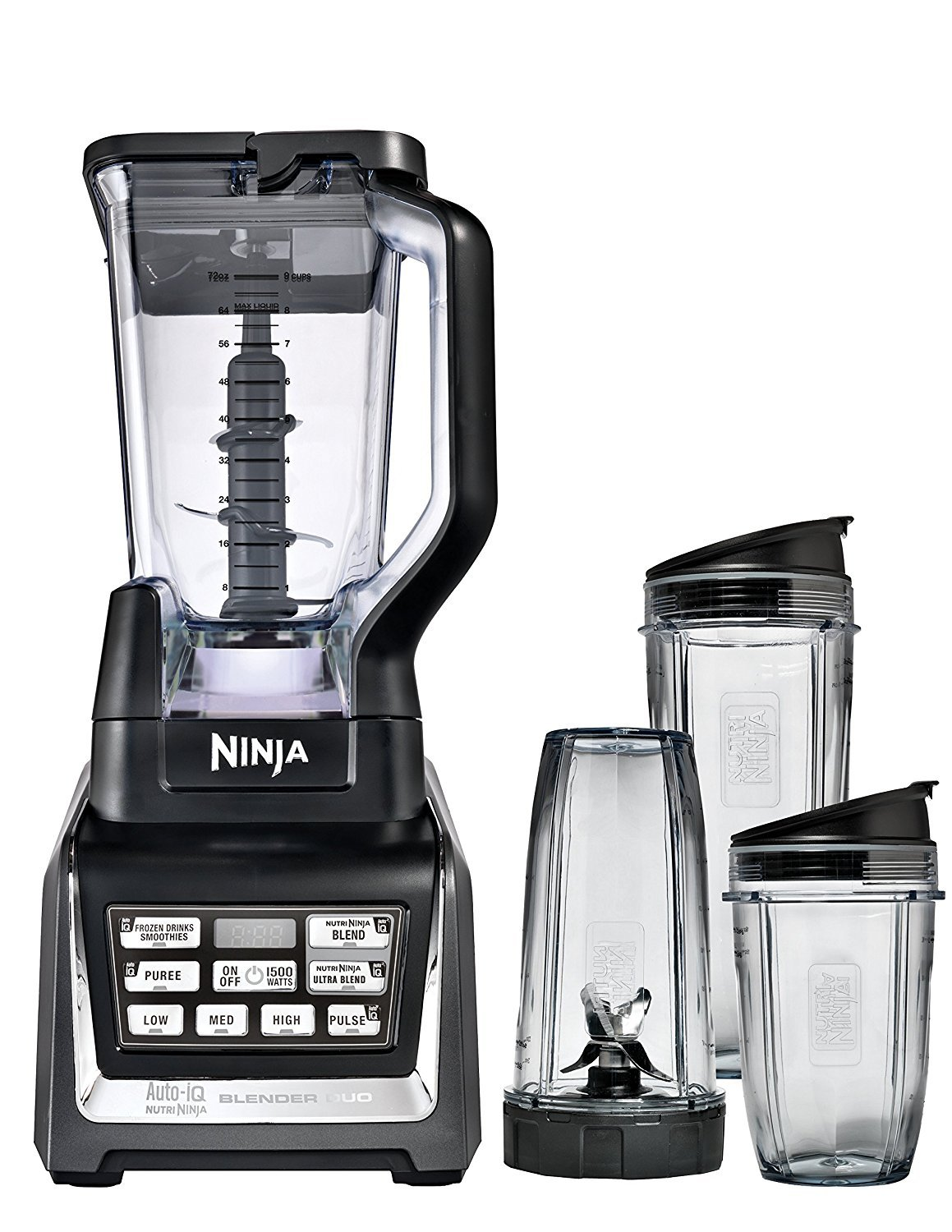 Ninja BL642 Blender Black/Silver (Renewed)