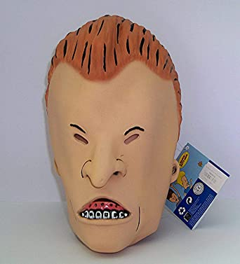 155a0ec5101fc Amazon.com  Rubie s Beavis and Butt-Head Adult Deluxe Overhead Latex Butt- Head Mask