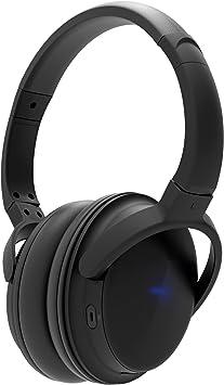 ATECH INNOVATION Auriculares Bluetooth Over Ear Hi-Fi Auriculares inalámbricos estéreo,controlador de 40Mm para bajos profundos y tonos medios claros con micrófono para teléfonos PC y TV (negro): Amazon.es: Electrónica
