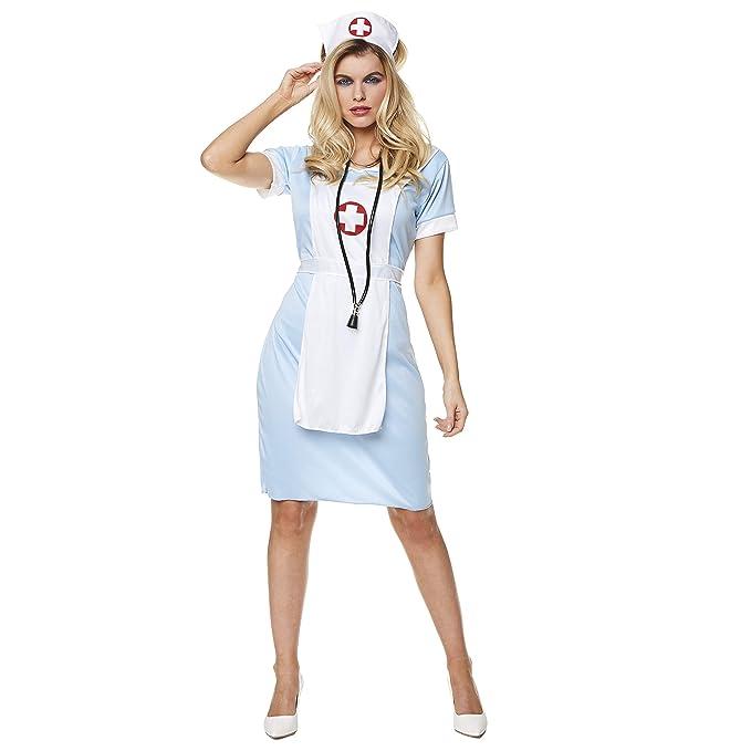 Amazon.com: Disfraz de enfermera sexy para mujer, accesorio ...