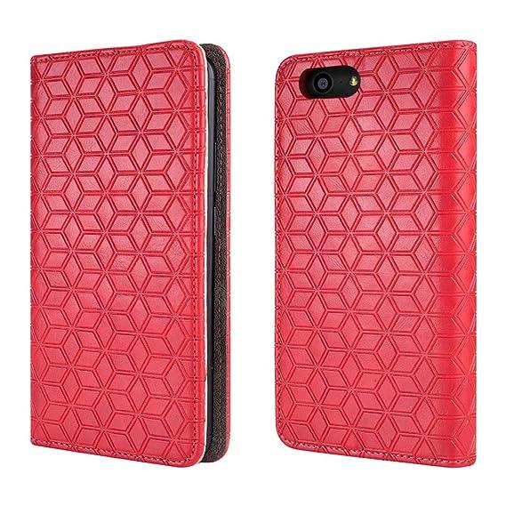 pretty nice 2c1fd 8e1e2 Orbic Wonder Case (Verizon), [Kickstand] [Card Slot+Side Pocket] Premium  Soft PU Color Matching Leather Wallet Cover Flip Case Protective Case for  ...
