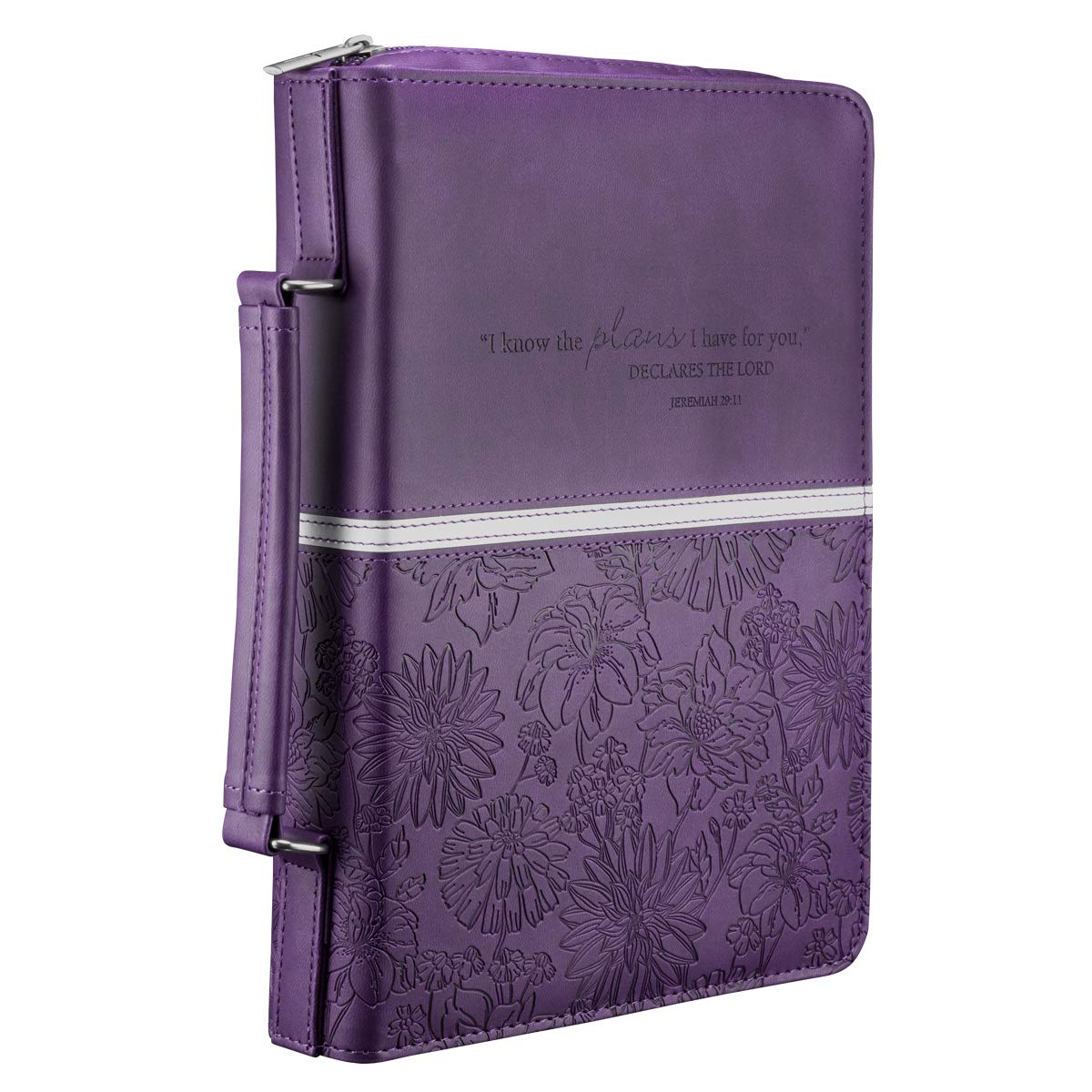 Floral Embossed Bible / Book Cover
