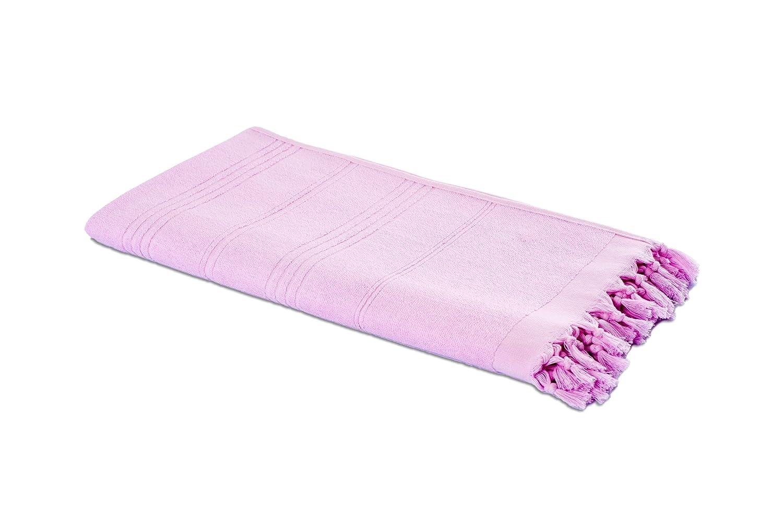 90 x 190 cm Asciugamano dello Sport Asciugamano di Sauna Asciugamano e Pano di Hamam in uno 100/% Cotone Asciugamano di Bagno Carenesse Asciugamano di Hammam 2in1 rosa fucsia Asciugamano di Spiaggia Asciugamano Bagno Turco Fouta