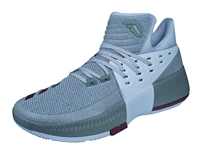 finest selection 4c6c5 01707 adidas D Lillard Dame 3 Mens Basketball SneakersShoes-Grey-6.5