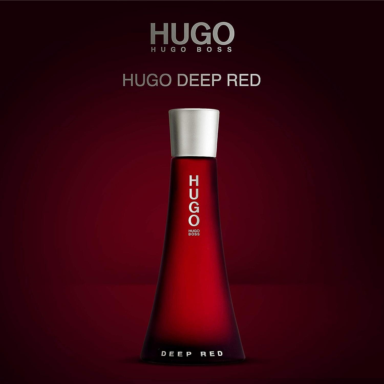 hugo boss deep red gift set