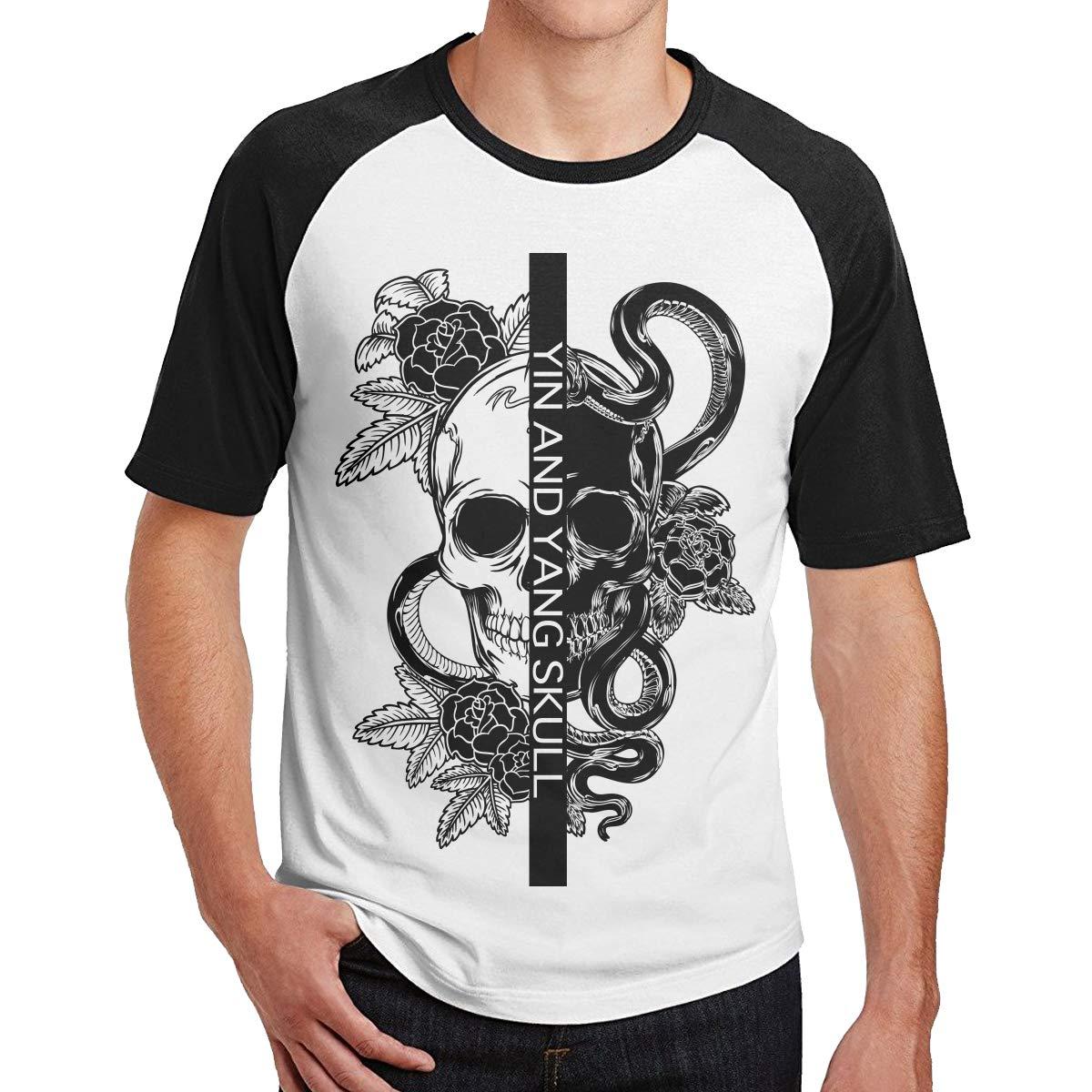 Camisetas clásicas de béisbol de Manga Corta para Hombres de Yin y ...