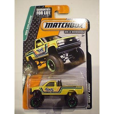 Matchbox MBX Explorers - Chevy K1500 4X4 Pickup Truck 88/120: Toys & Games