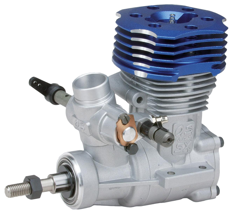 1081848-grispner 2708 OS MAX 50 SX-H Hyper - Motore