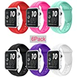 Amazon Price History for:Apple Watch Band Silicone 38mm 42mm,Sundo Iwatch Replacement Wrist Strap Bracelet Band for Apple Watch Nike+ Sport Edition Series 1 Series 2 Series 3
