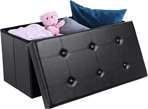 Homfa 30 Inches Folding Ottoman