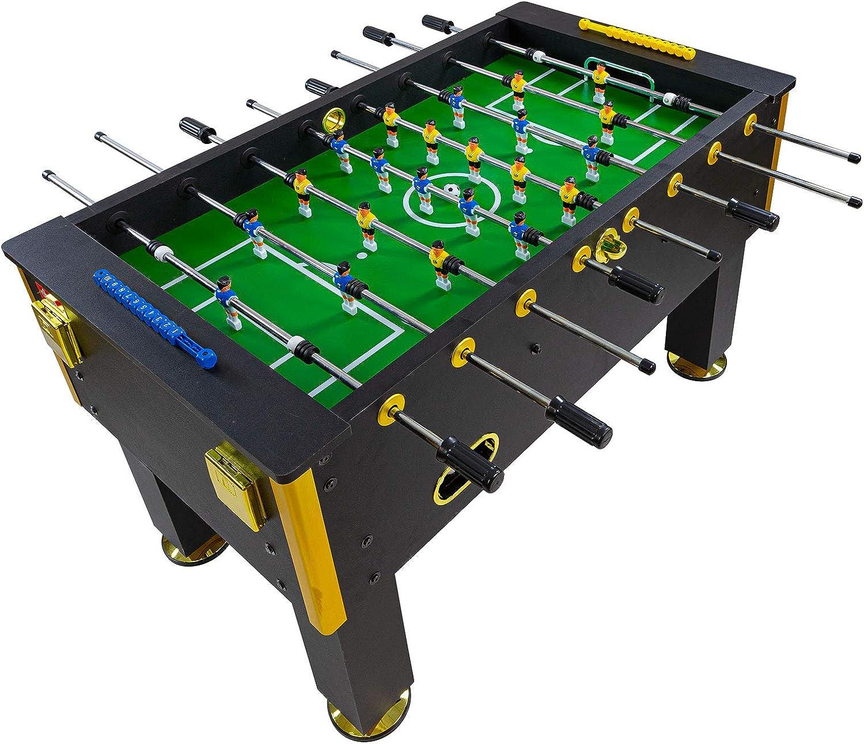 Dema – Futbolín Gold Edition, Negro 70129: Amazon.es: Deportes y aire libre