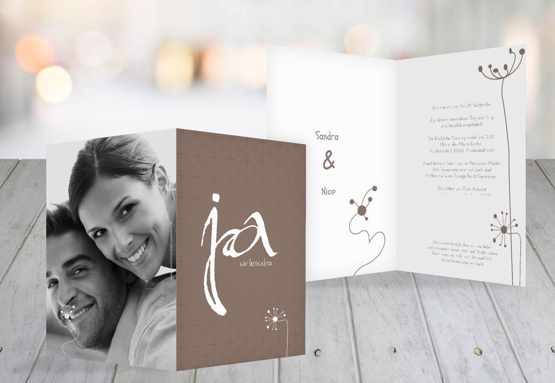 Kartenparadies Hochzeitskarte Hochzeit Einladung abstrakte abstrakte abstrakte Blaumen, hochwertige Einladung zur Heirat inklusive Umschläge   100 Karten - (Format  105x148 mm) Farbe  AquaTürkis B01MR7UG19 | Am wirtschaftlichsten  | Ermäßigung  | Modern  c88fcd