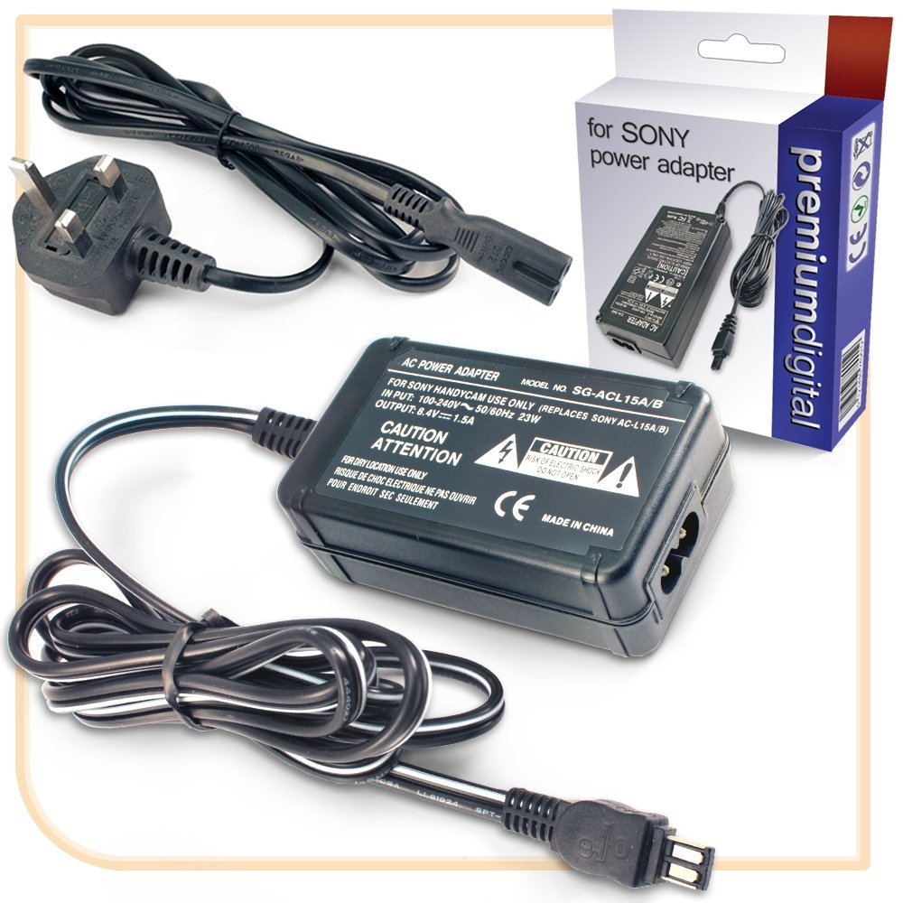 Sony Handycam CCD-TR427E Replacement AC Power Adapter