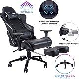 Amazon Com Elecwish Ergonomic Computer Gaming Chair Pu
