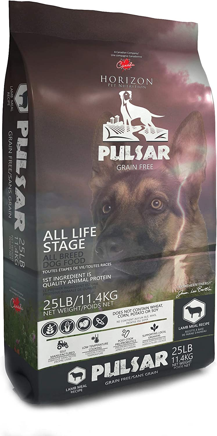 HORIZON PET NUTRITION Pulsar Grain Free, Non GMO, Meat Dense All Life Stage Dry Dog Food